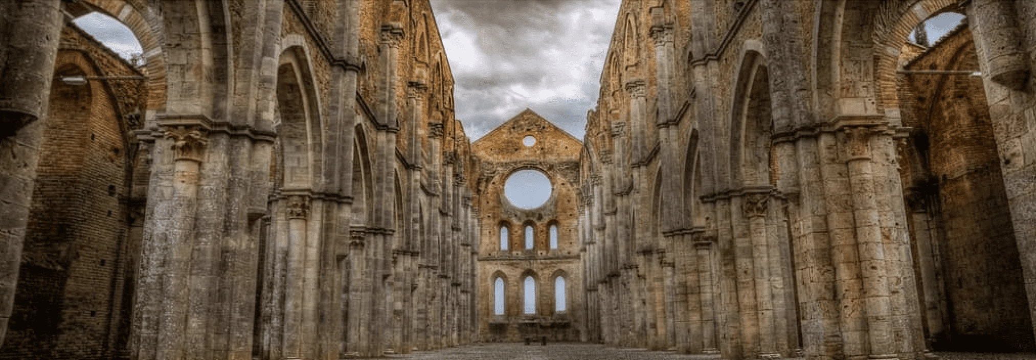 Abbey of San Galgano in Tuscany