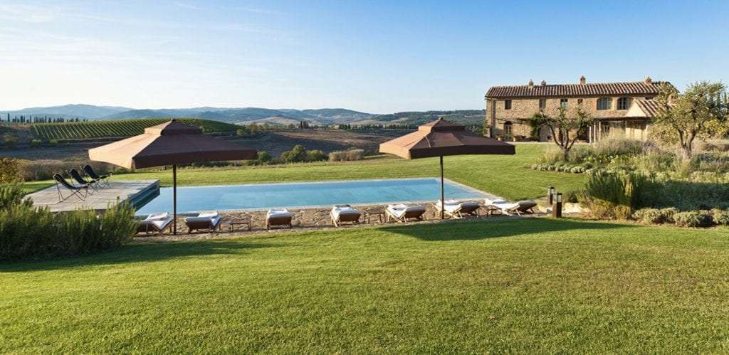 Rosewood hotel's Villa in Tuscany