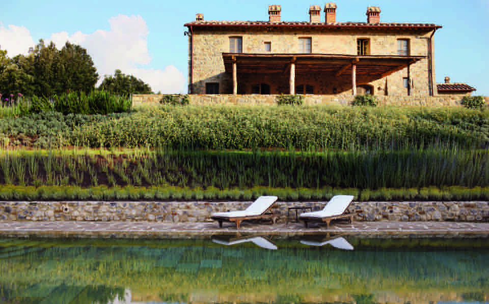 Private exclusive villa in the estate Rosewood in Tuscany