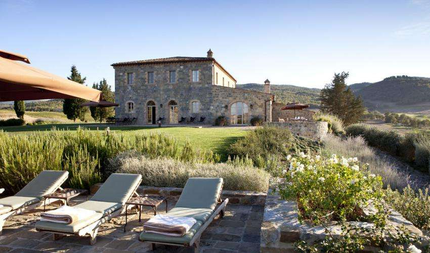 Rosewood Hotels's gardens Tuscany