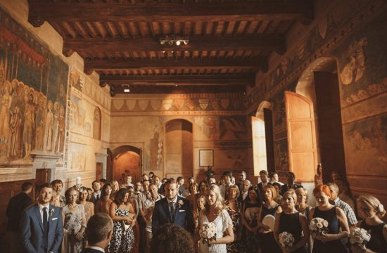 A civil ceremony of foreigners in Italy