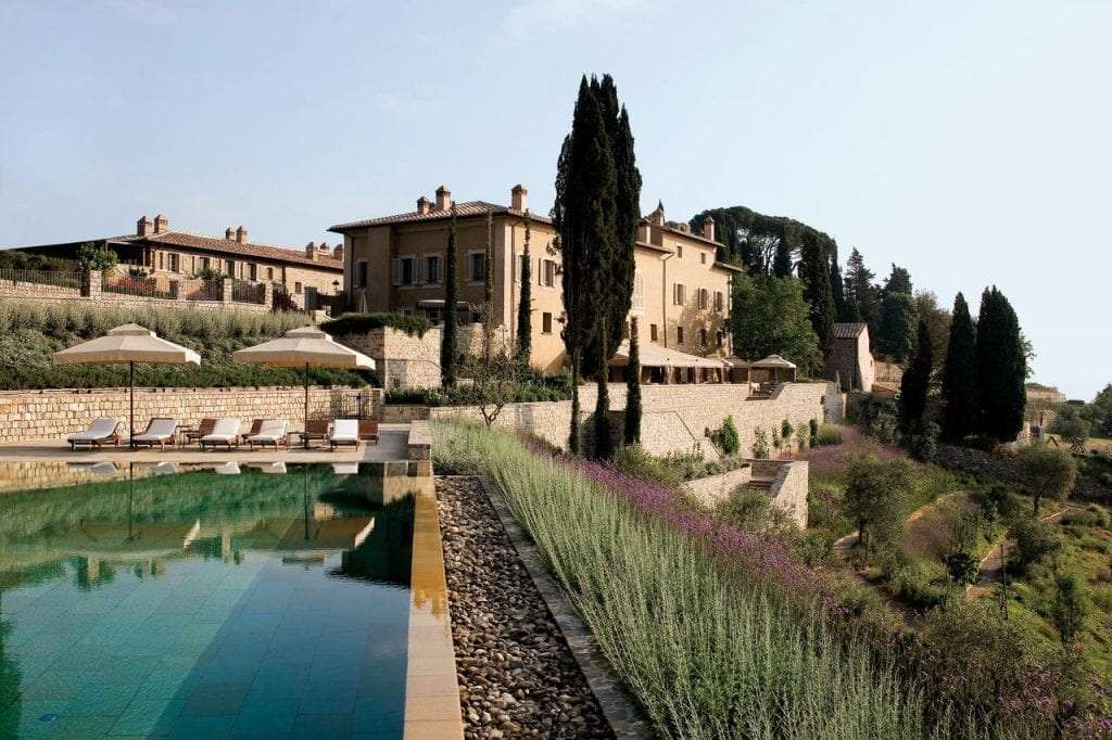 Rosewood Hotels Pool in Tuscany