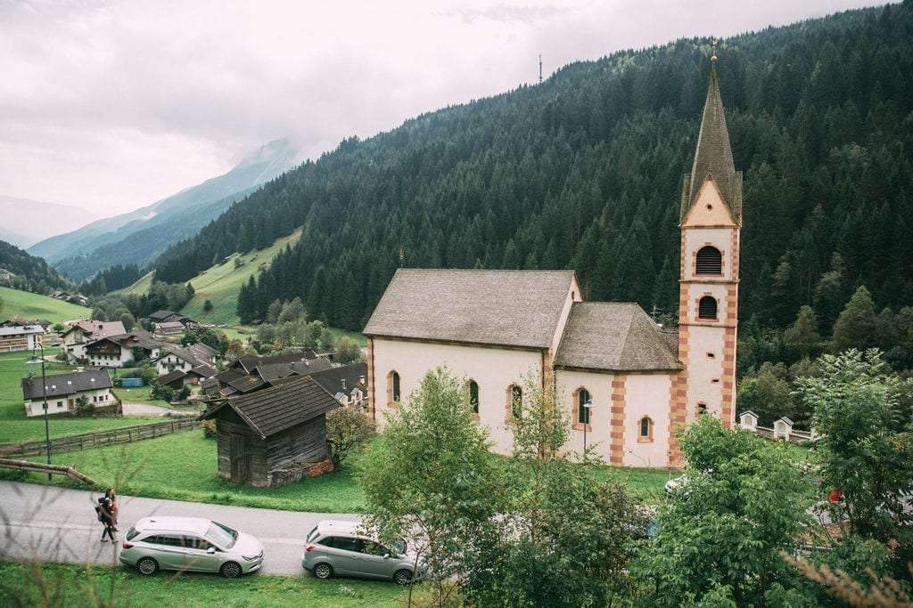 A typical Church in South Tyrol