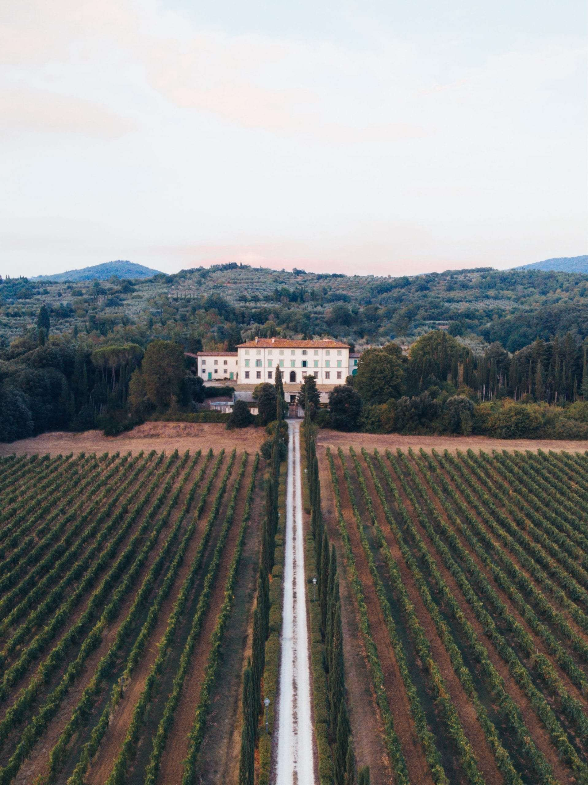 Wedding Venue in Arezzo in Tuscany among vineyards